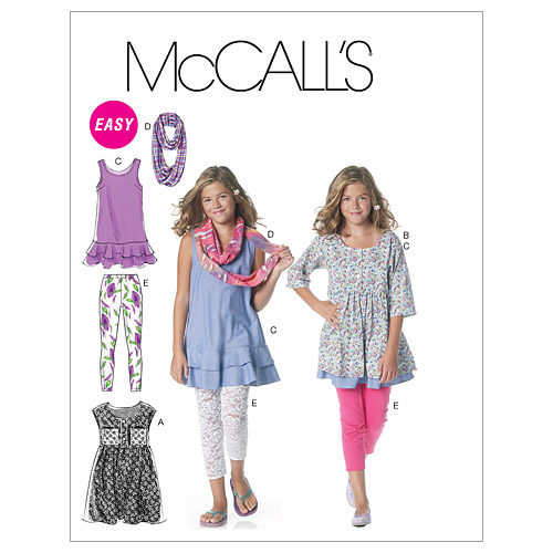 McCall\u0027s Girls\u0027 Casual-M6275