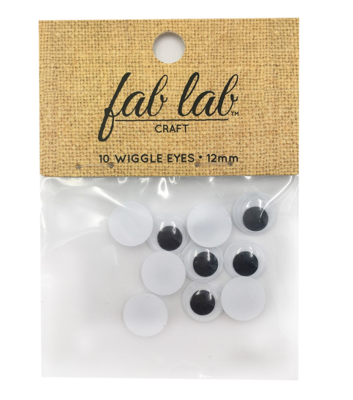 Easyglue Eyes 12mm 10pc