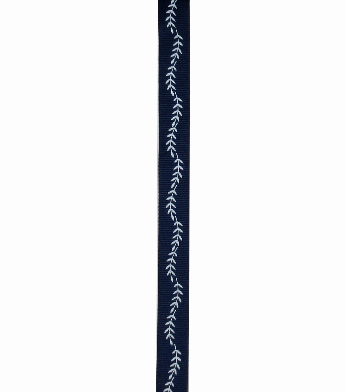Save the Date 5/8\u0022 x 15ft Ribbon-White Fern On Navy