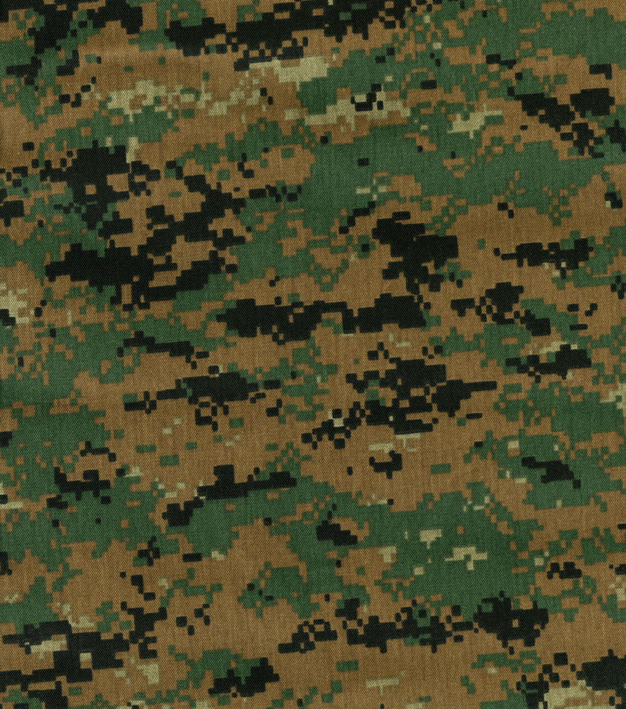 Digital Woodland Shirting Fabric -Camouflage