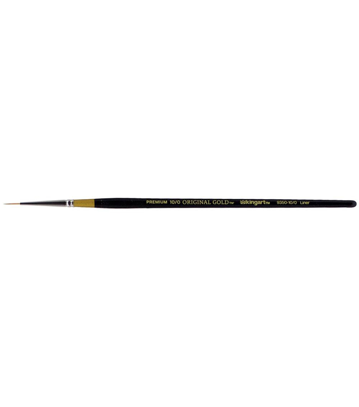 KINGART Original Gold Paint Brush-Liner, Size 10/0