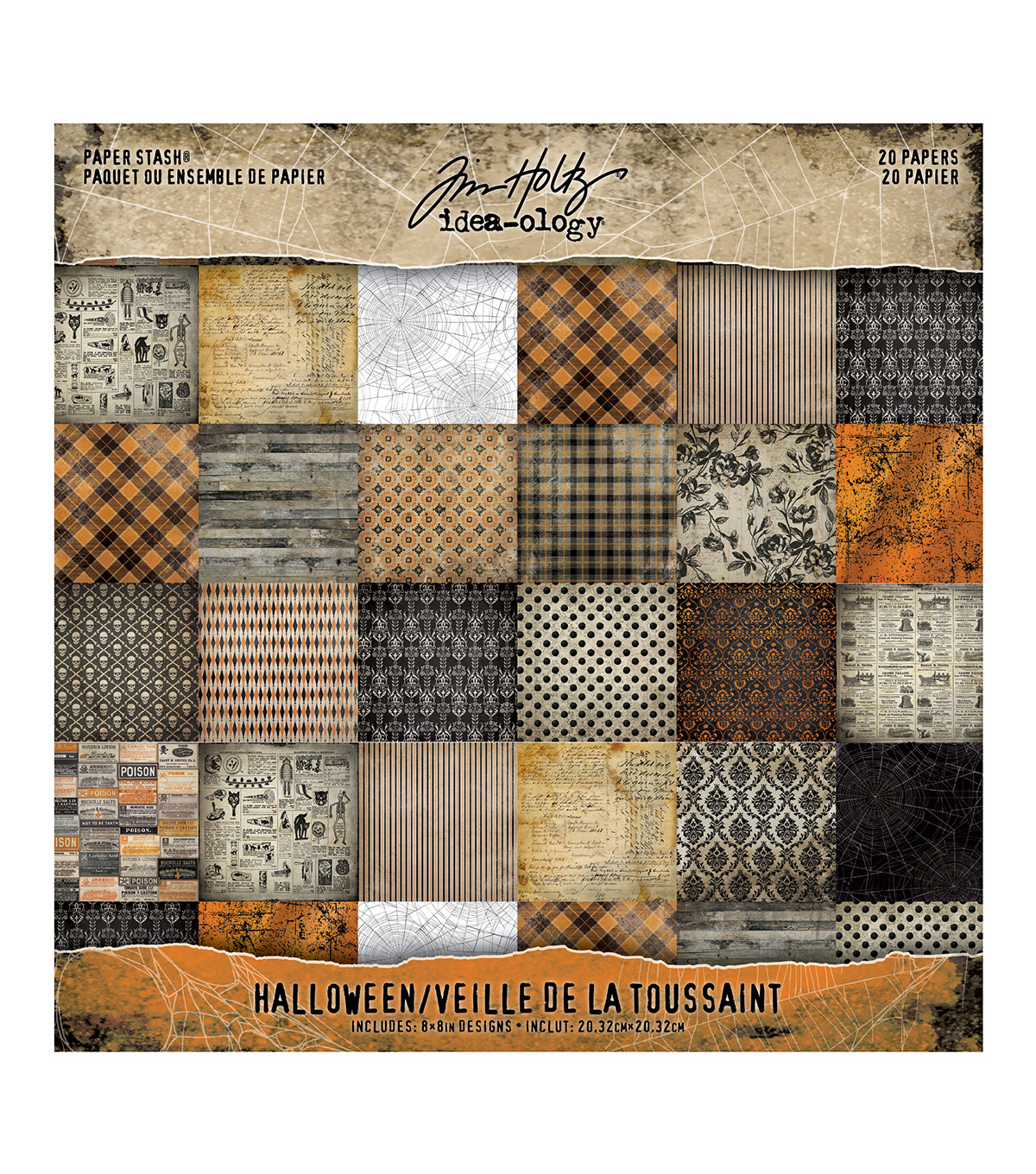 Tim Holtz Idea-ology Halloween-Mini Stash