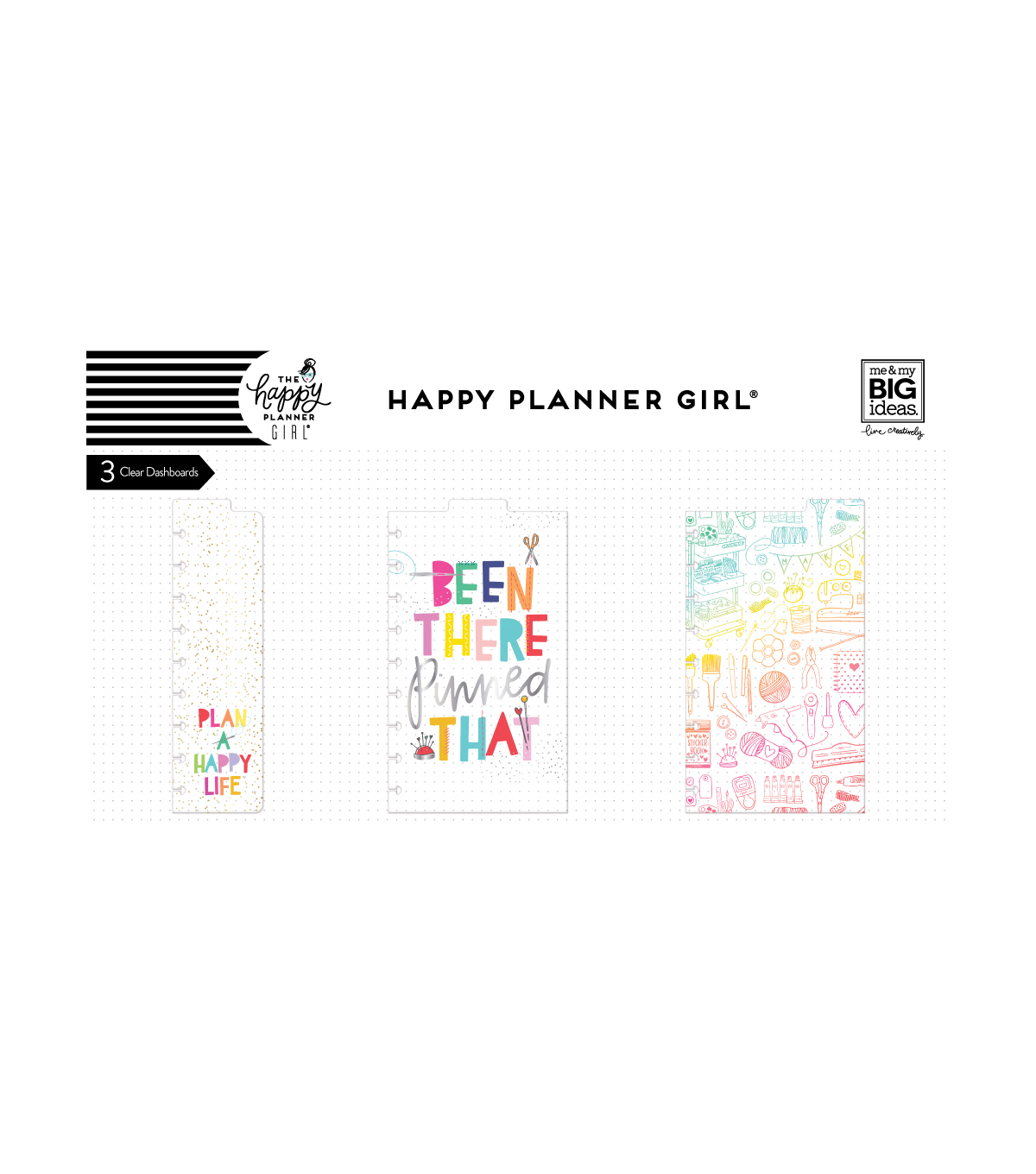 The Happy Planner Girl Classic Dashboards-Miss Maker