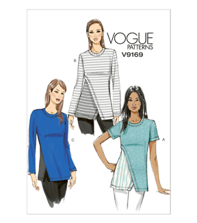Vogue Patterns Misses Top-V9169