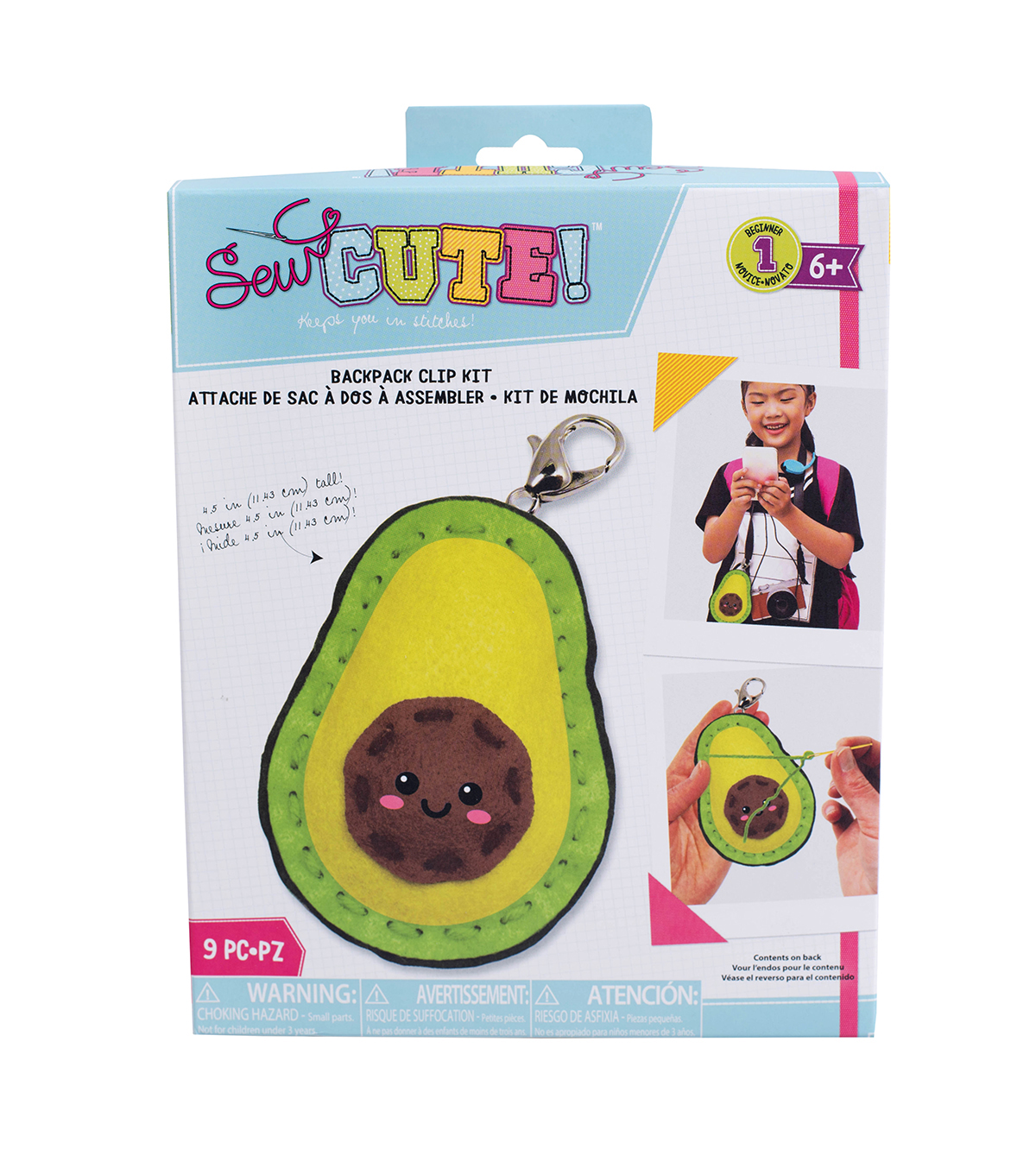 Sew Cute! Mini Avocado Kit