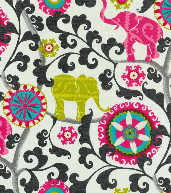 P/K Lifestyles Outdoor Fabric 54\u0022-Menagerie/Spectrum