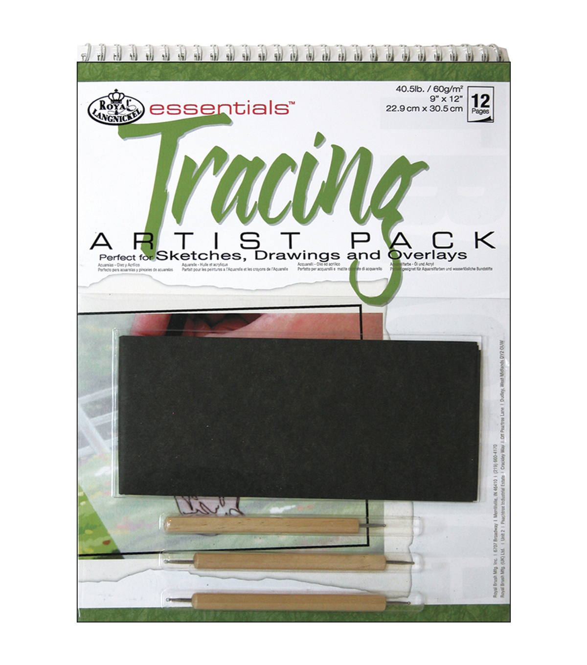 Royal Brush Essentials Artist Pack-Tracing
