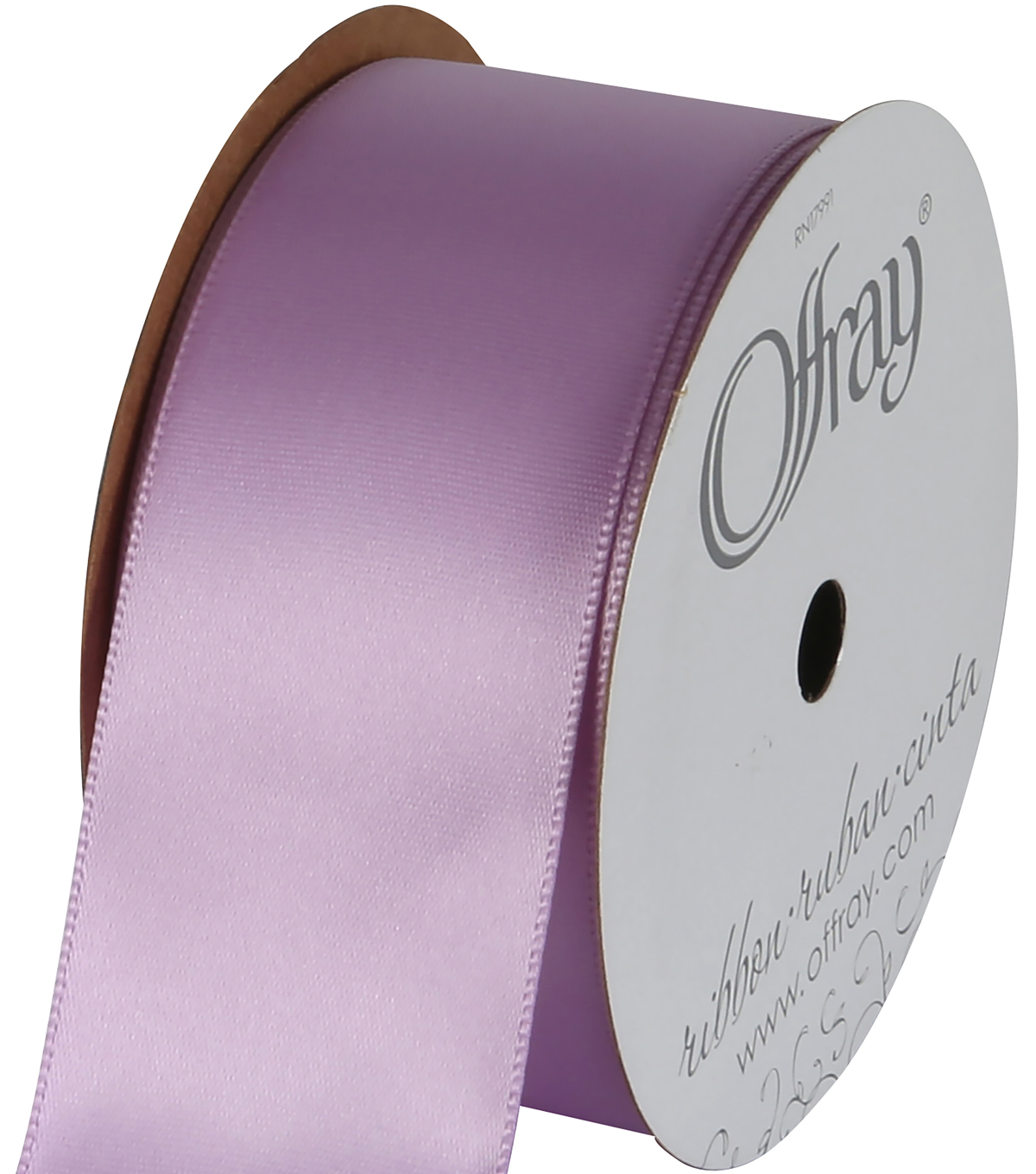Offray Single Face Satin Ribbon 1-1/2\u0027\u0027-12 Feet
