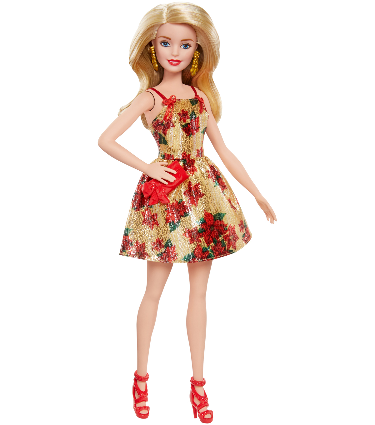 Barbie Doll with Blonde Hair in Holiday Look