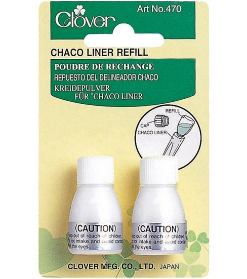 Clover Chaco-Liner Refill, White