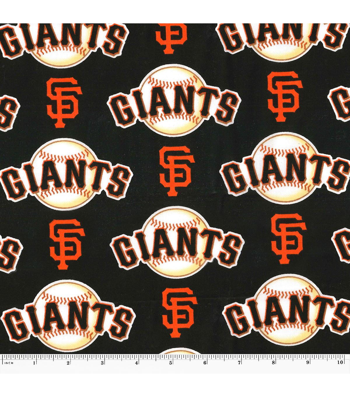 San Francisco Giants Logo Cotton Fabric 58 Joann