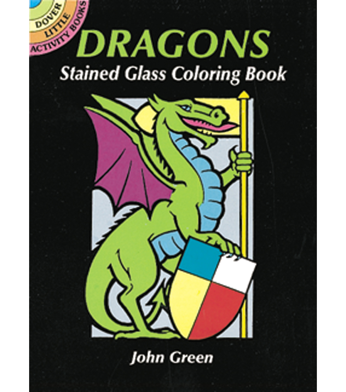 Dover Publications-Dragons Stained Glass Coloring Book | JOANN
