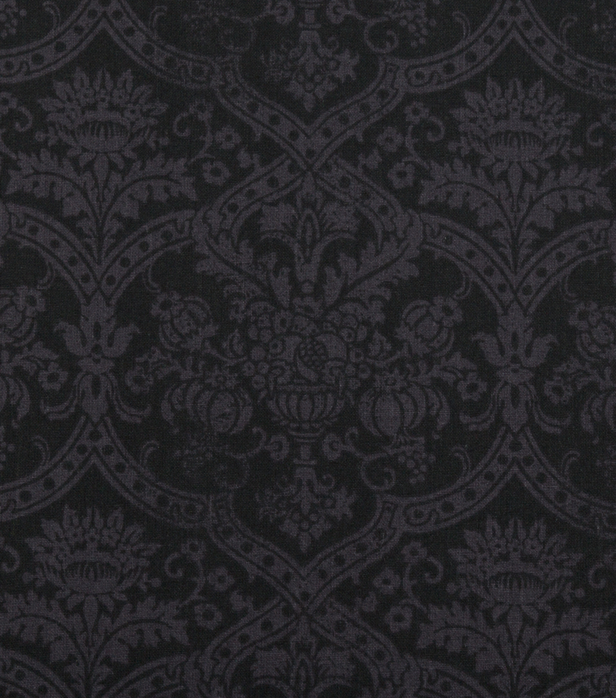 Keepsake Calico Cotton Fabric 108\u0027\u0027-Black Medallion