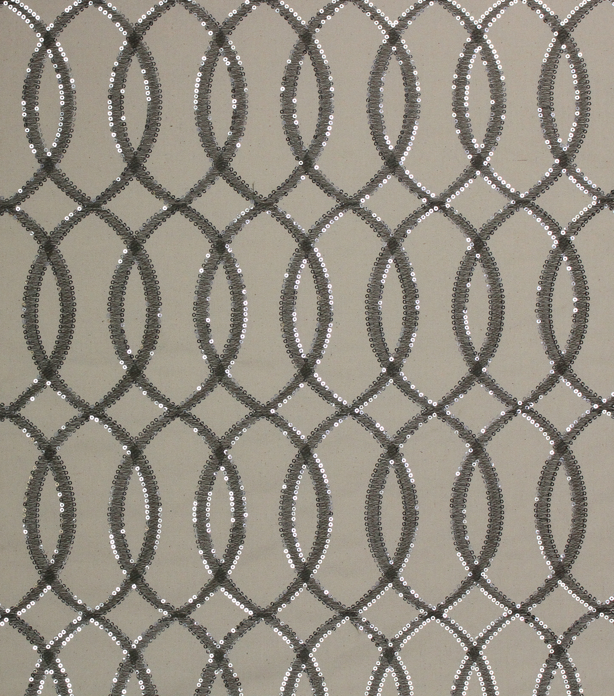 Lightweight Decor Fabric 54\u0022-Attention Silver