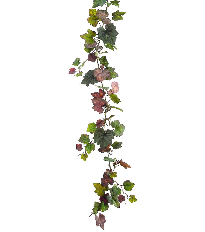66 U0022 Grape Ivy Garland With Berry