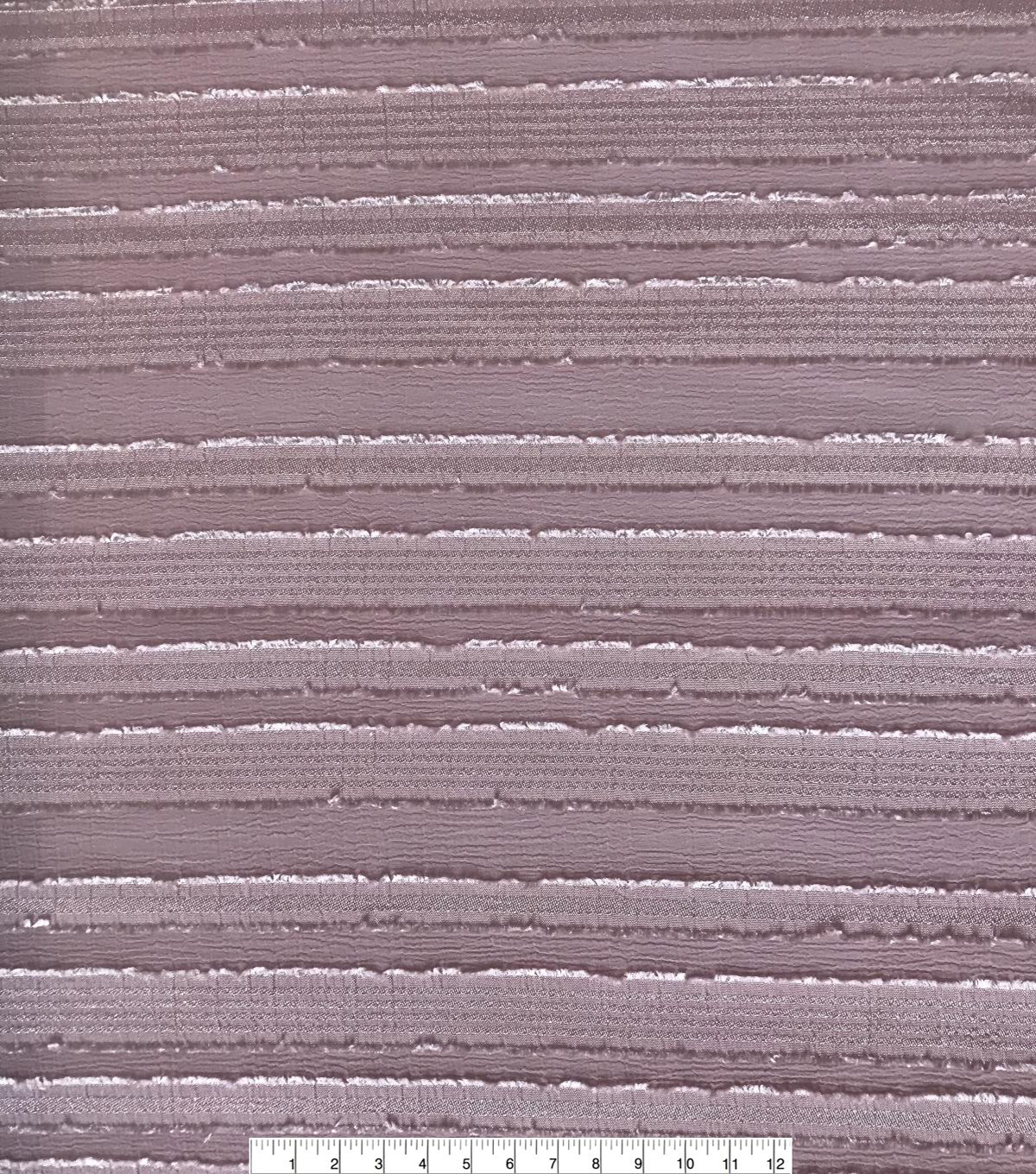 Silky Sheer Crepe Fabric 56\u0027\u0027-Pink Stripe