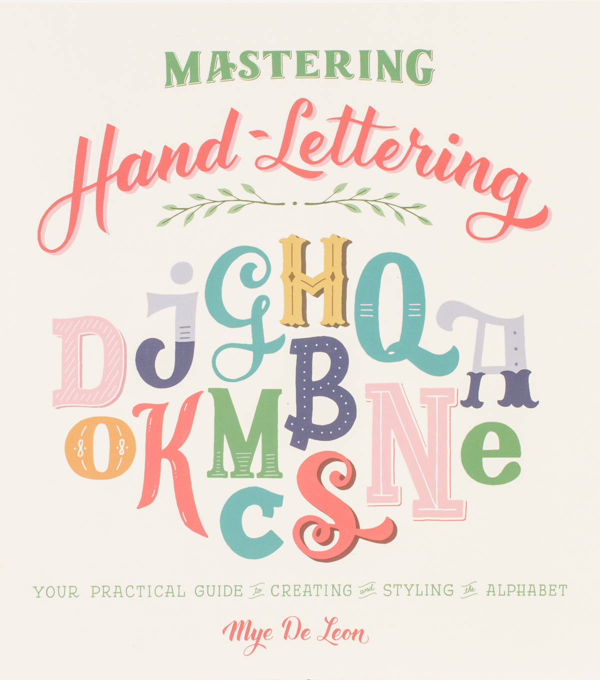 Mastering Hand Lettering Book