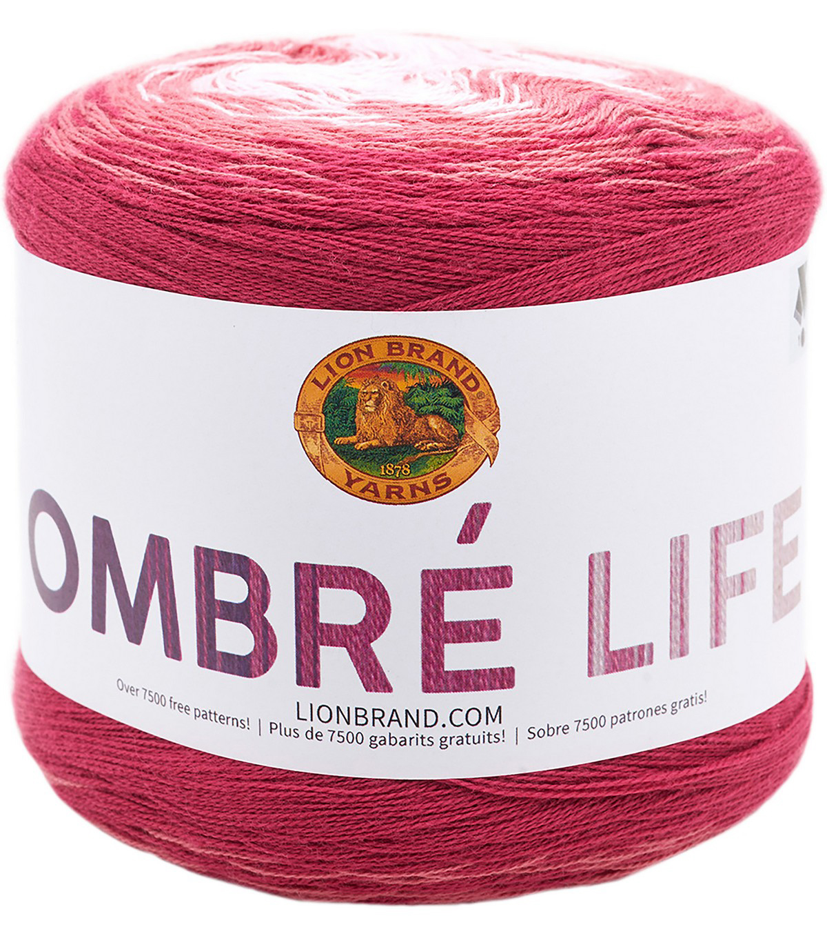 Lion Brand Ombre Life Yarn, Date Night