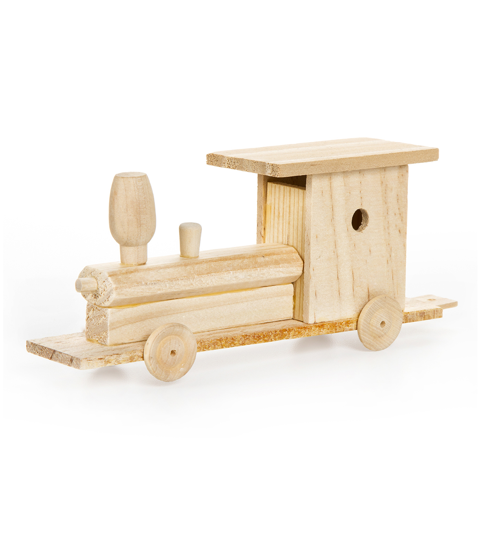 Wood Model Kit Train