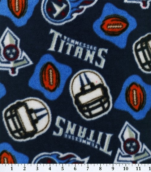 e27ec19b Tennessee Titans Fleece Fabric -Logo