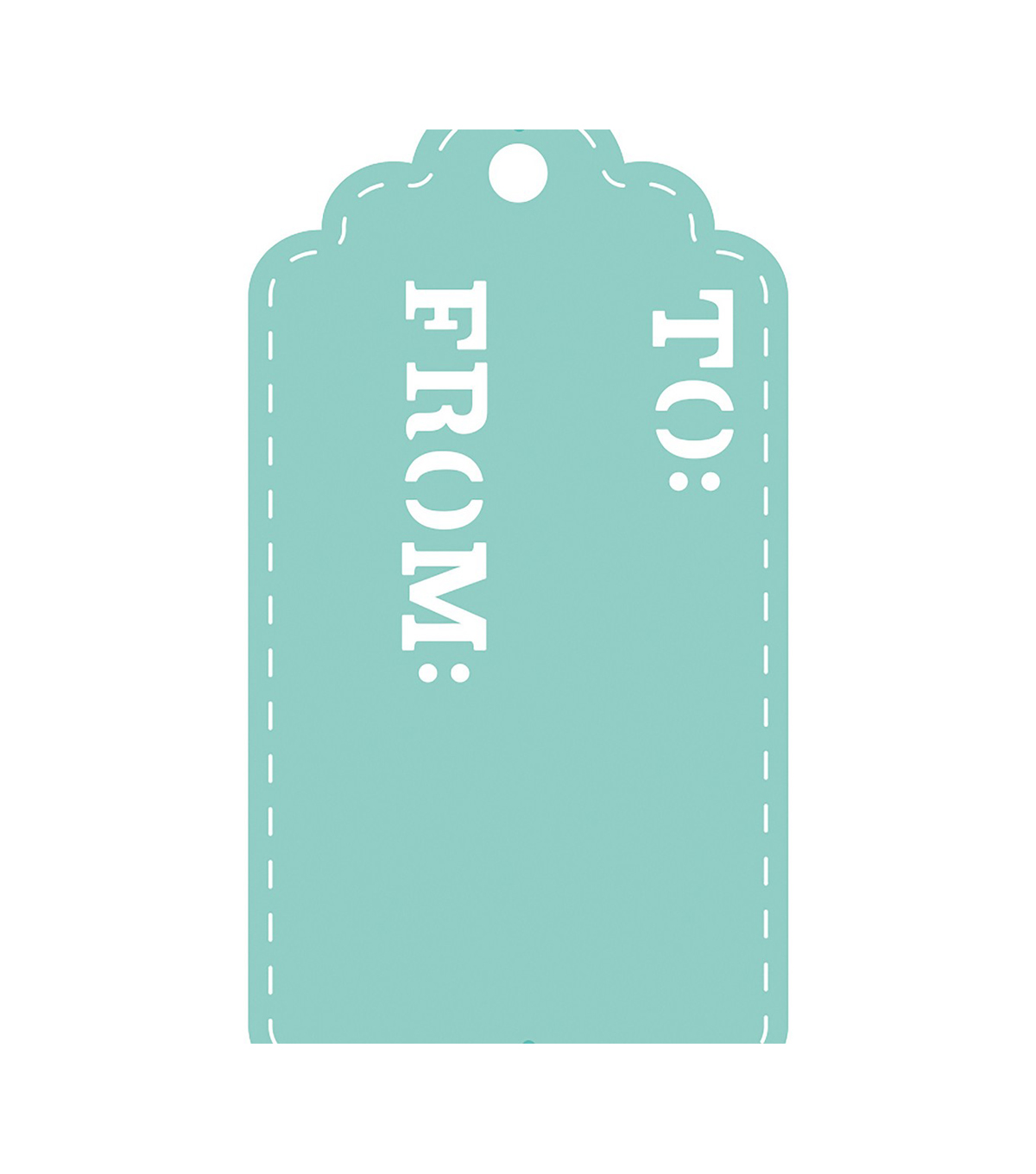 Kaisercraft DIY Cuts Metal Decorative Die-Gift Tag