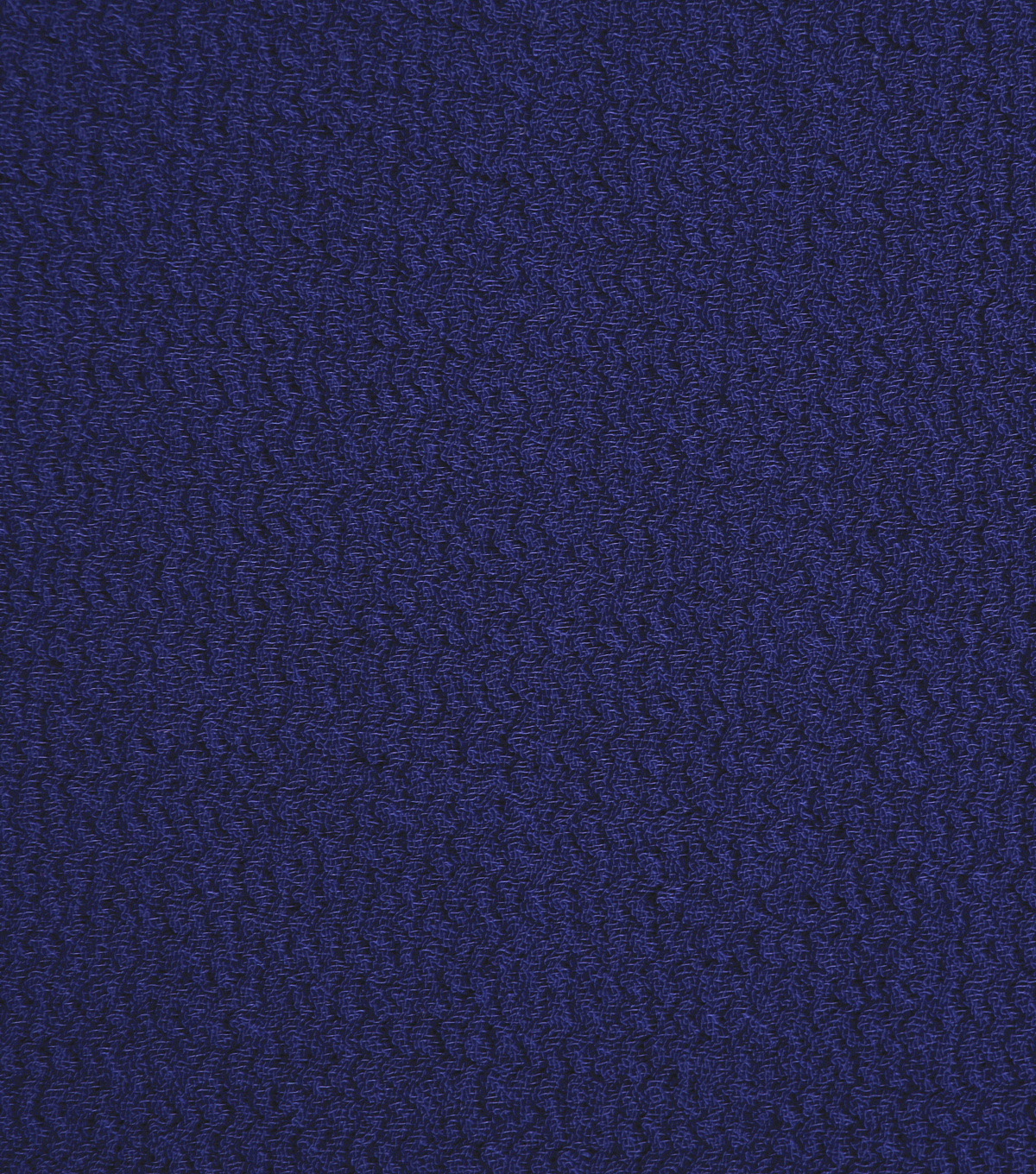 Silky Solid Crepe Knit Fabric-Solid Textured, Navy
