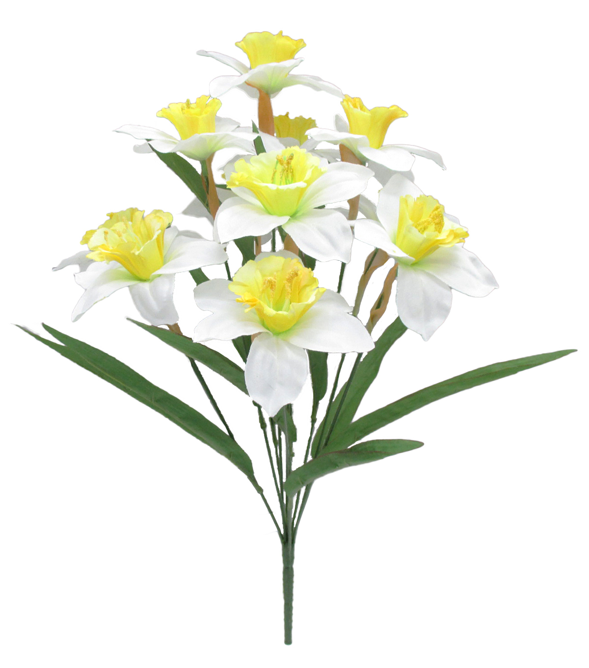 Fresh Picked Spring 19\u0027\u0027 Daffodil Bush-Yellow & White