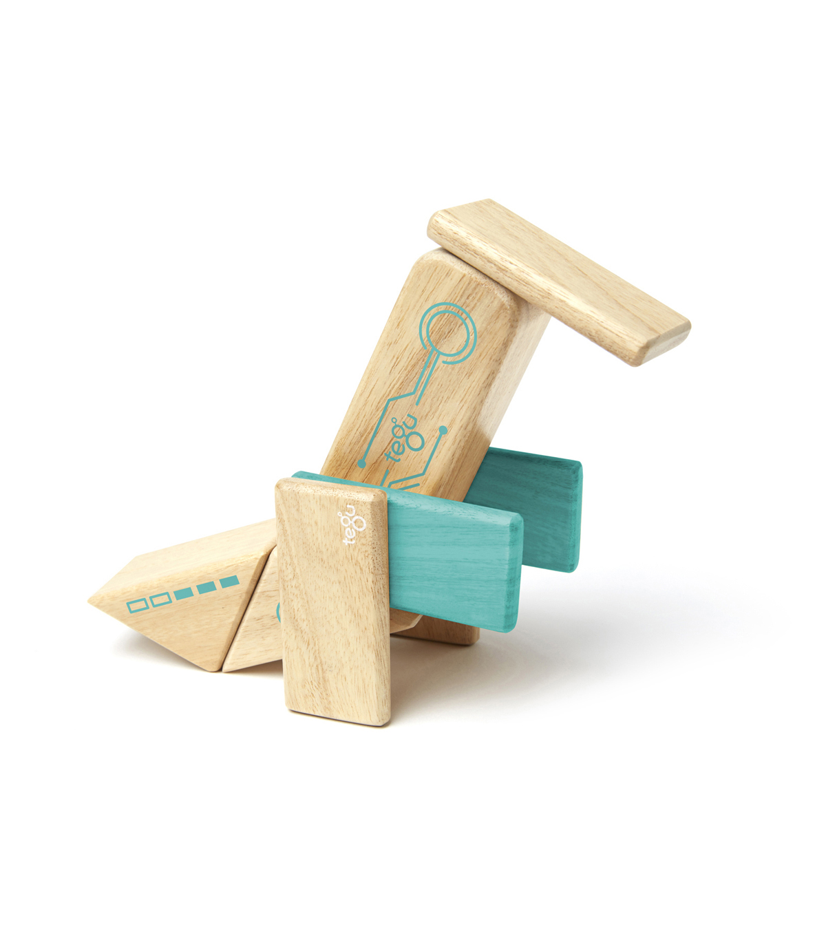 Robo Wooden Block Set