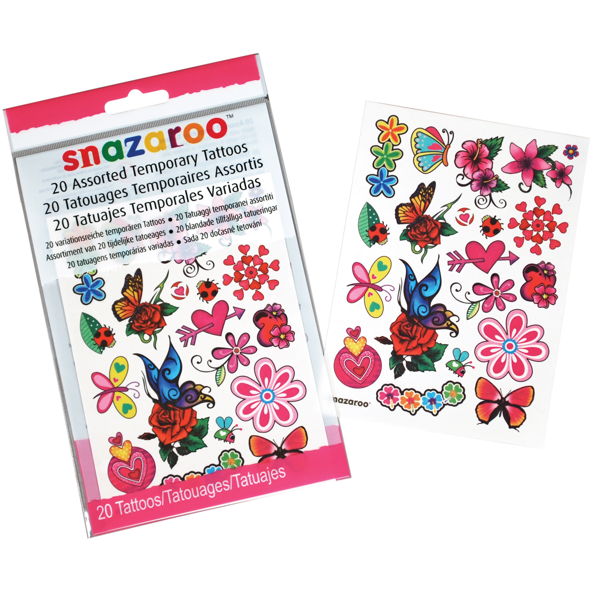 Creativity For Kids Snazaroo Temporary Tattoos Girls