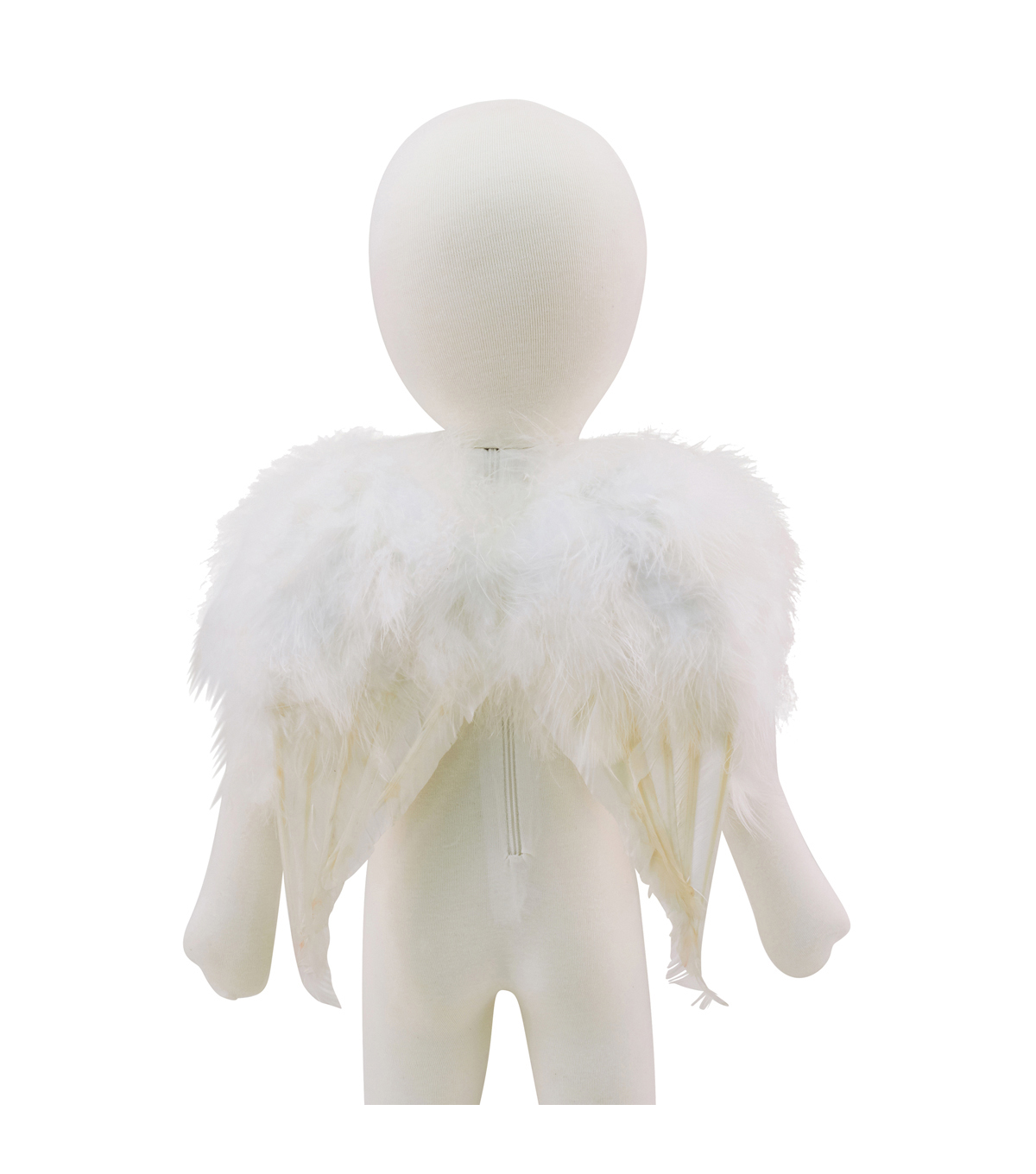 Maker\u0027s Halloween Mini Feather Wings-White