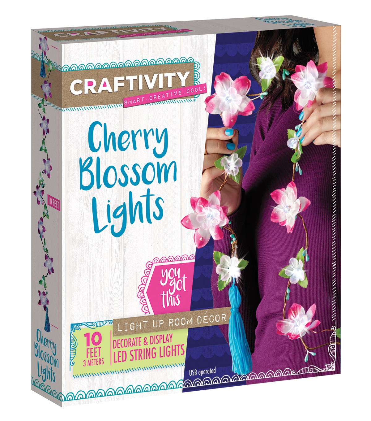 Creativity for Kids Cherry Blossom Lights