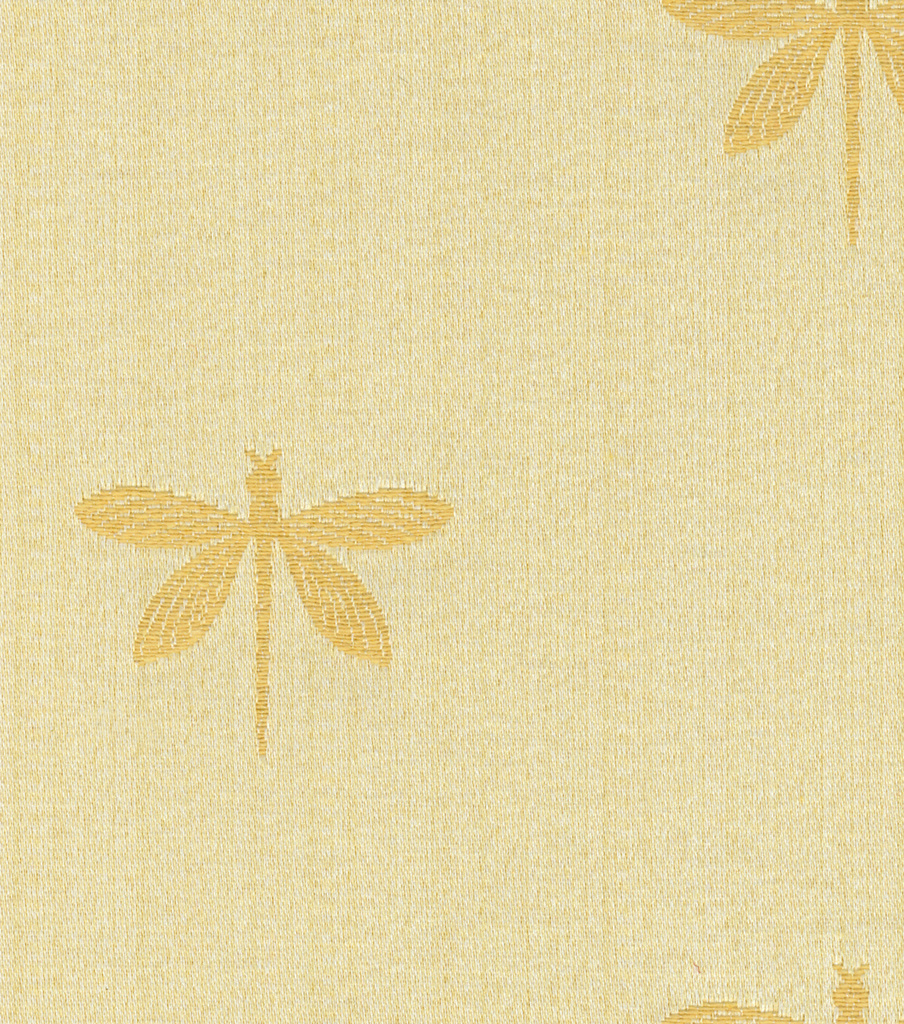 Swavelle Millcreek Multi-Purpose Decor Fabric 54\u0022- Imperial Dragonfly Gold