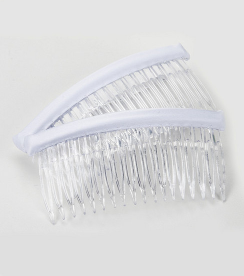 Darice 2pk 4\u0022 Large Hair Comb-Clear