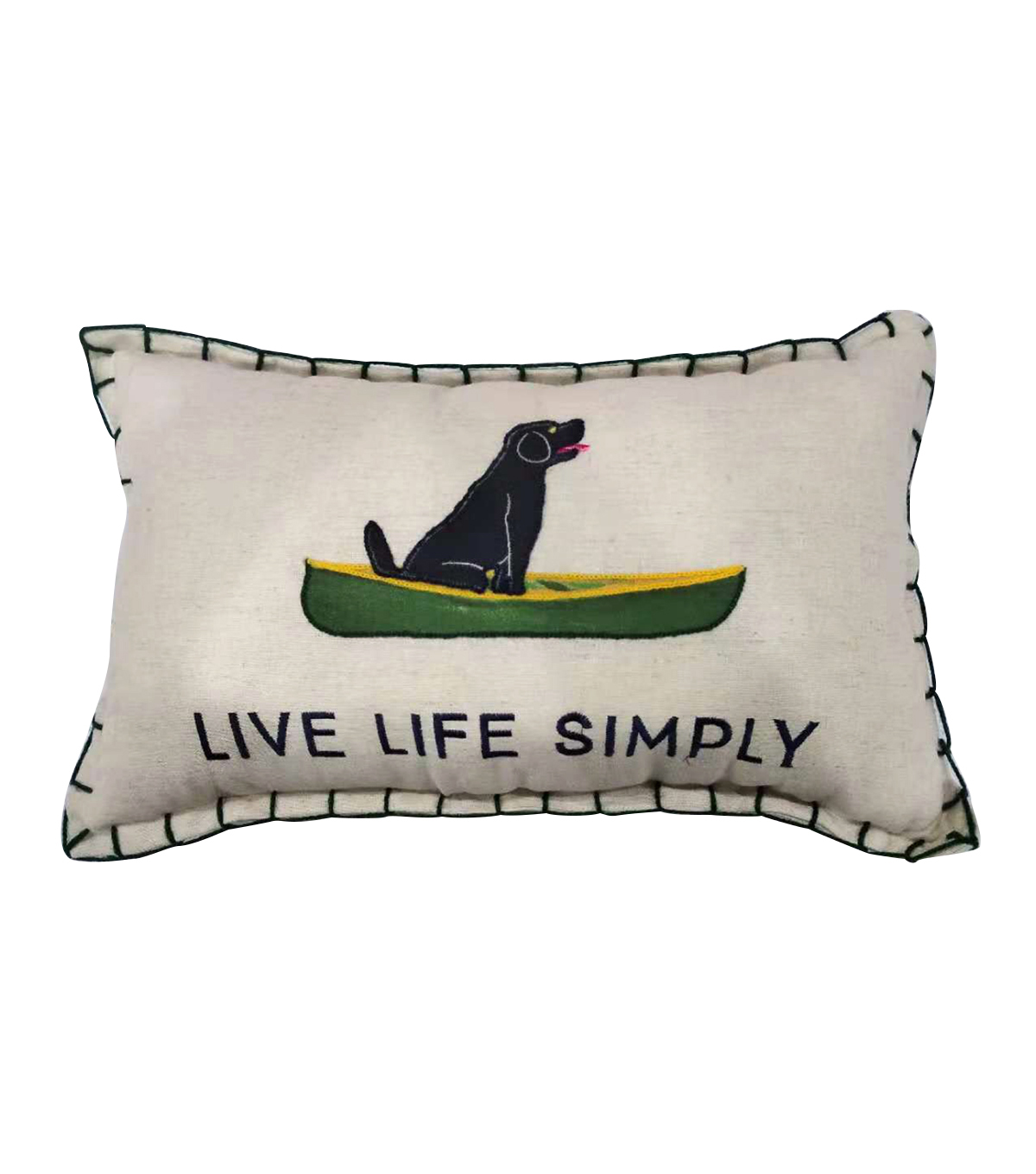 Camp Ann 11\u0027\u0027x18\u0027\u0027 Lumbar Pillow-Live Life Simply