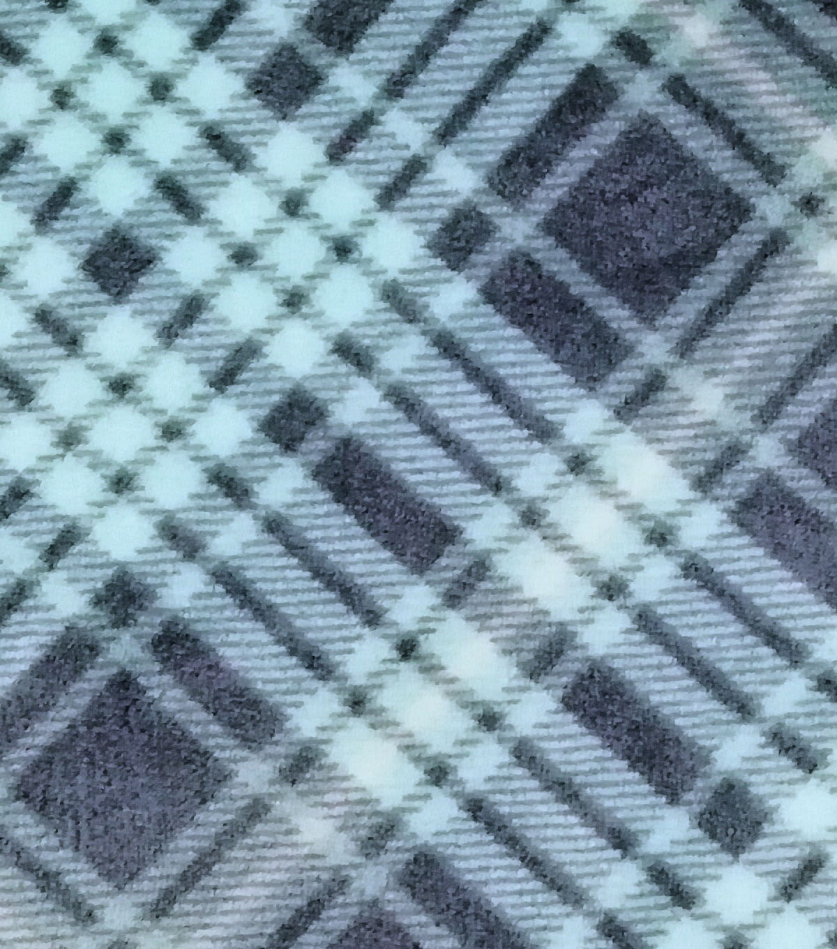 Sew Lush Fabric -Yukon Blue Plaid