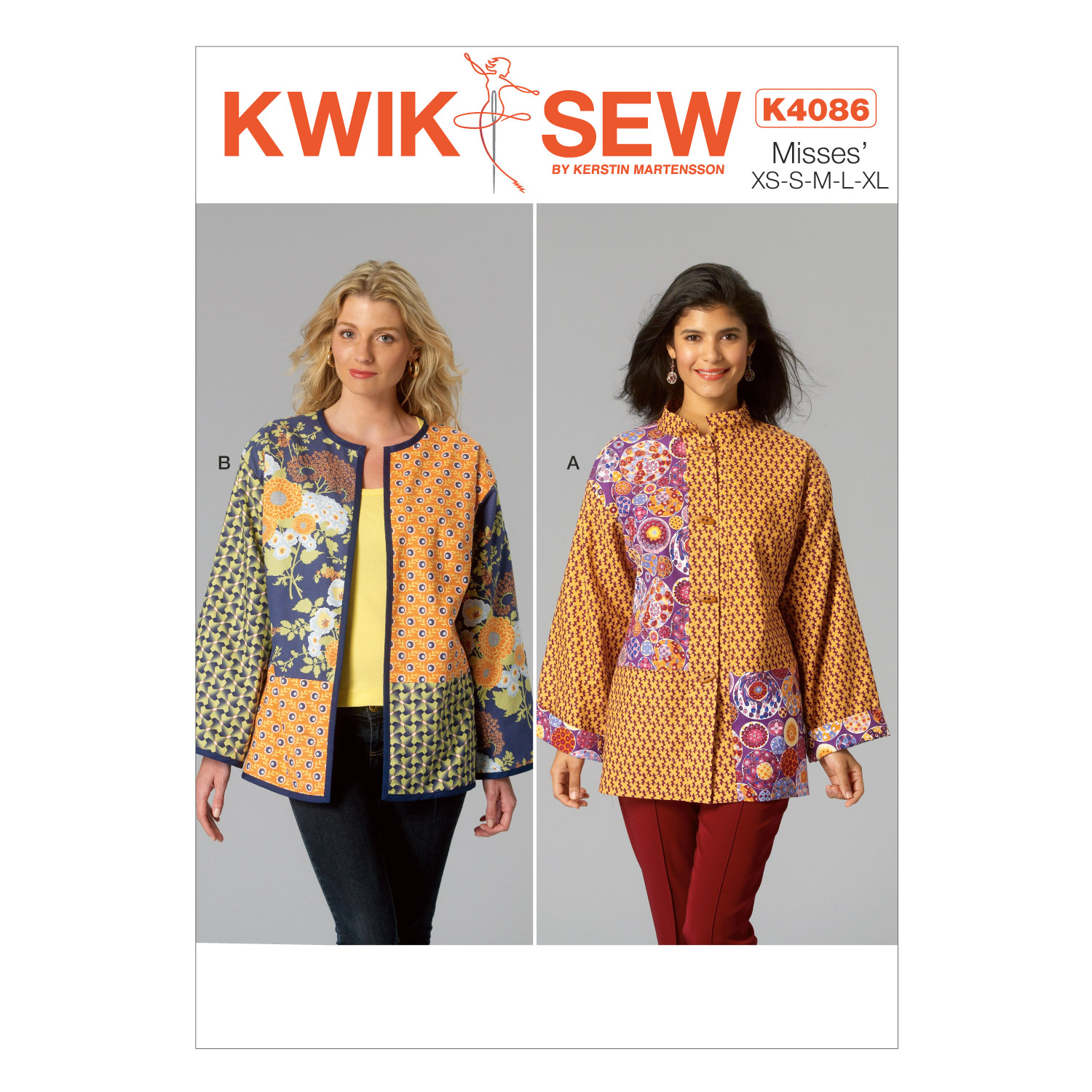 Kwik Sew Misses Jacket-K4086