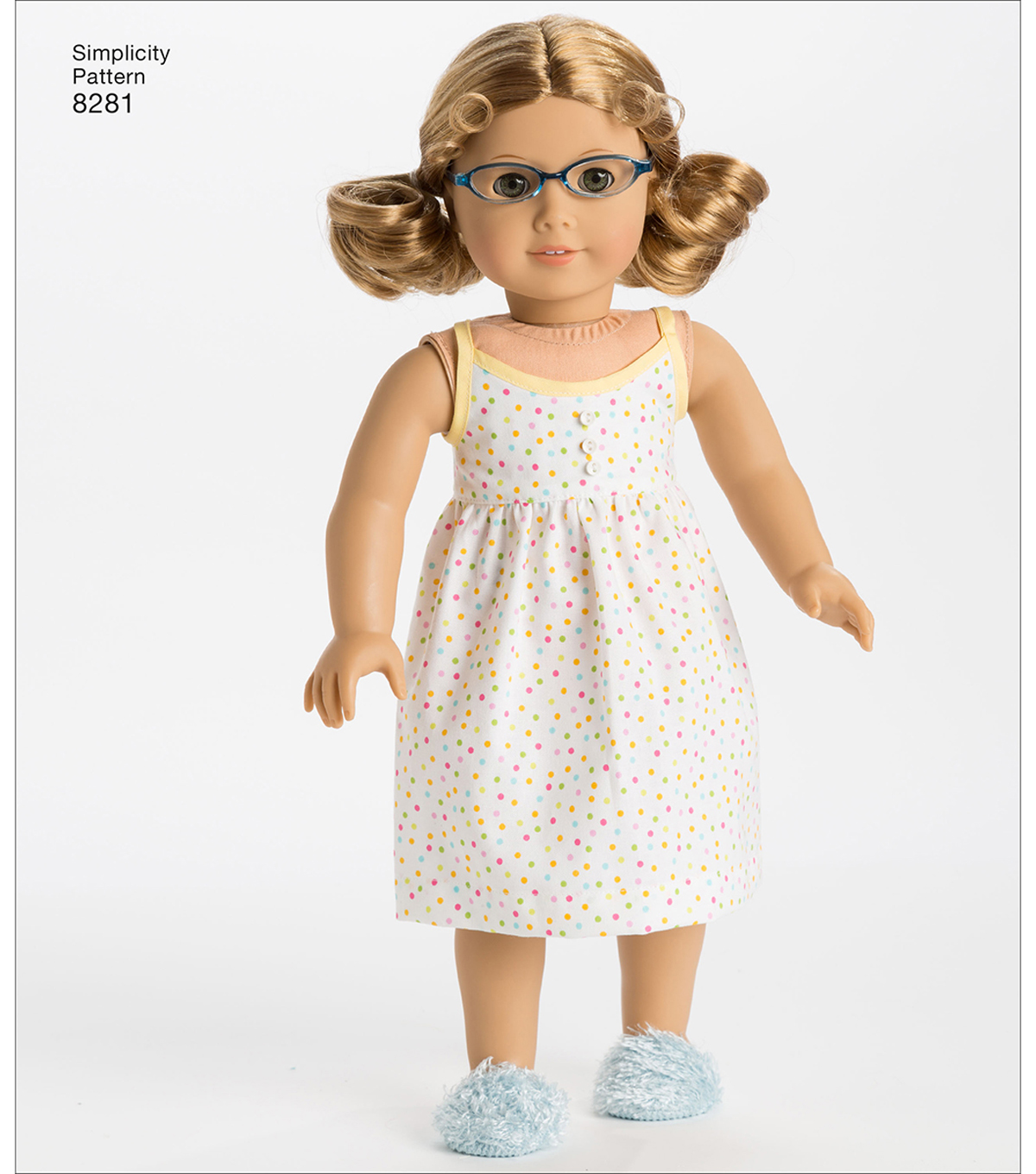 Simplicity Pattern 8281 18 Doll American Girl Clothes Joann