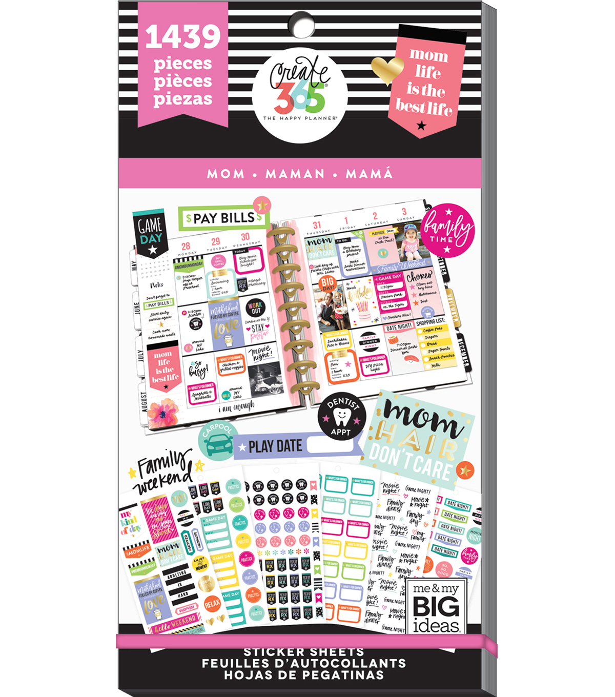 The Happy Planner Sticker Sheets-Mom
