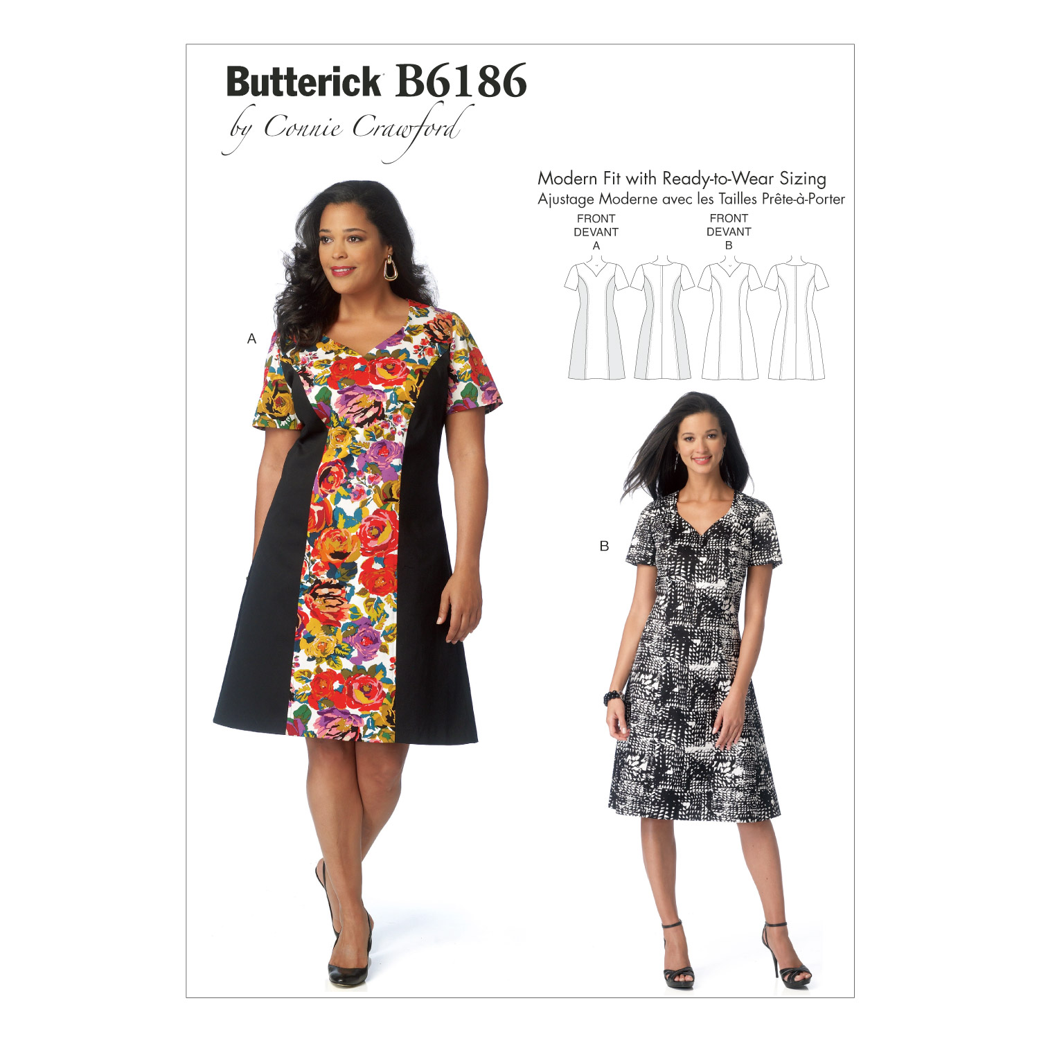 Butterick Women\u0027s Dress-B6186