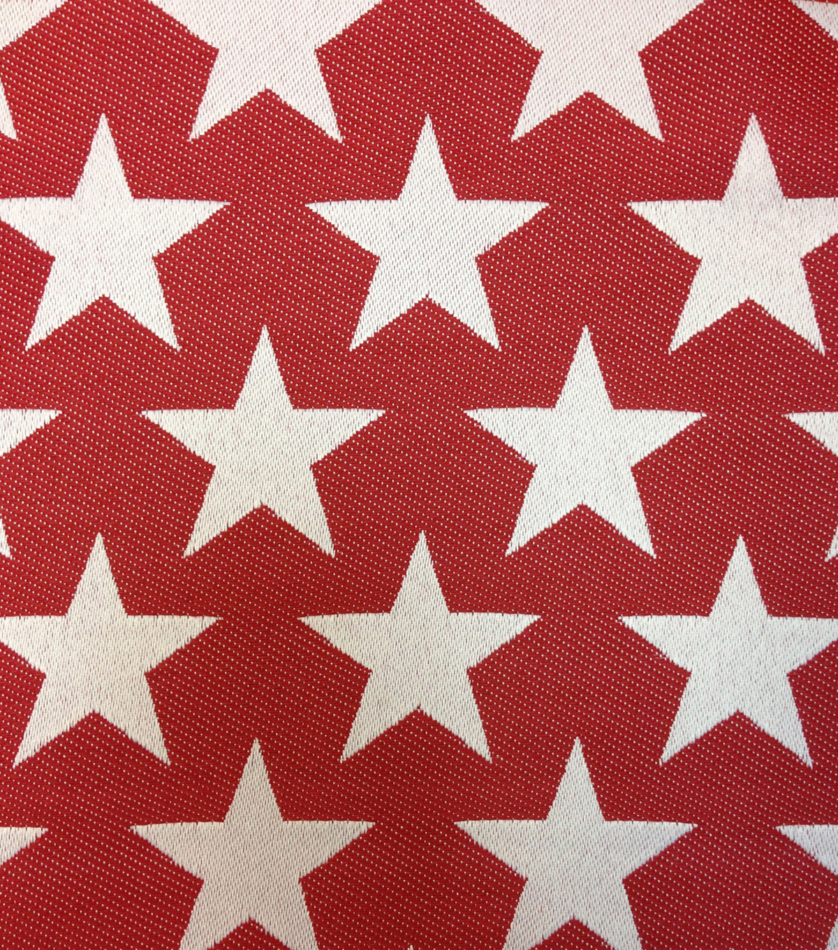 Outdoor Fabric-Stars Red