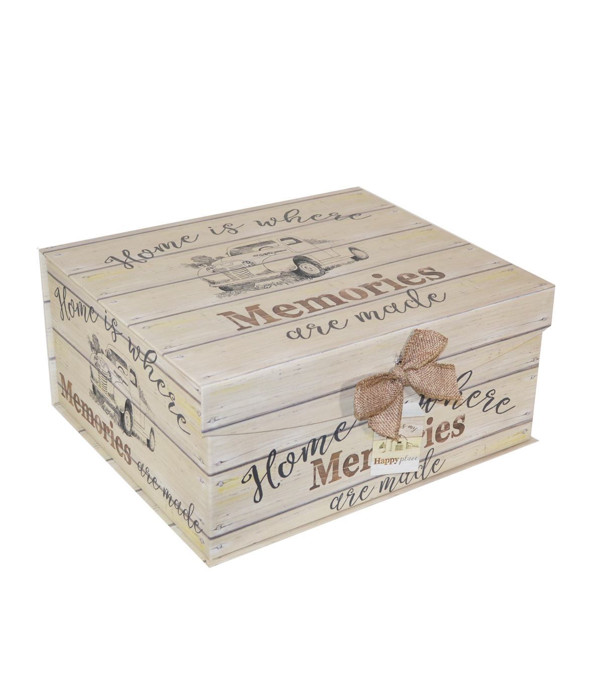 Organizing Essentials Large Fliptop Storage Box-Farmhouse Sentiments