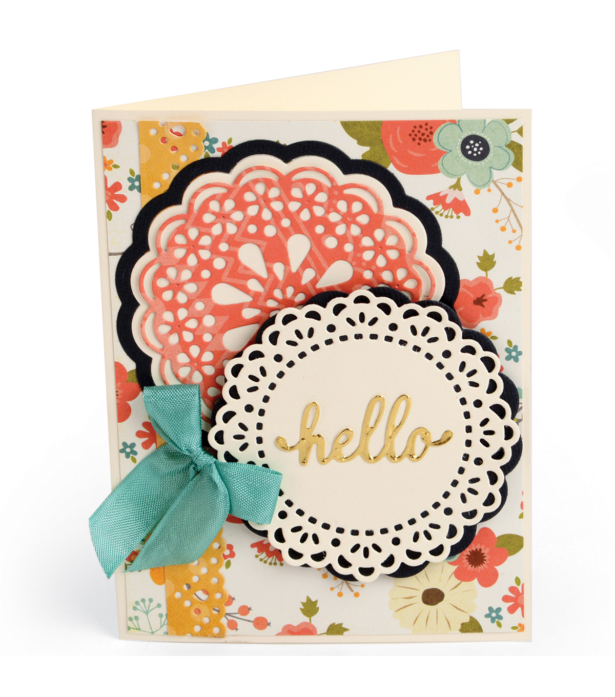 Sizzix Thinlits Lori Whitlock 7 Pack Dies-Hello Doily