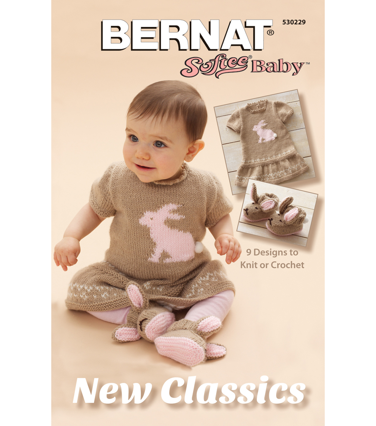 Bernat New Classics-Softee Baby Knitting Book