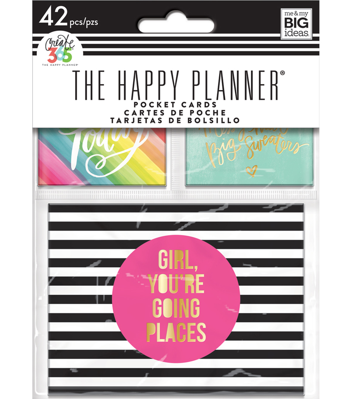 The Happy Planner Mini Planner Pocket Cards