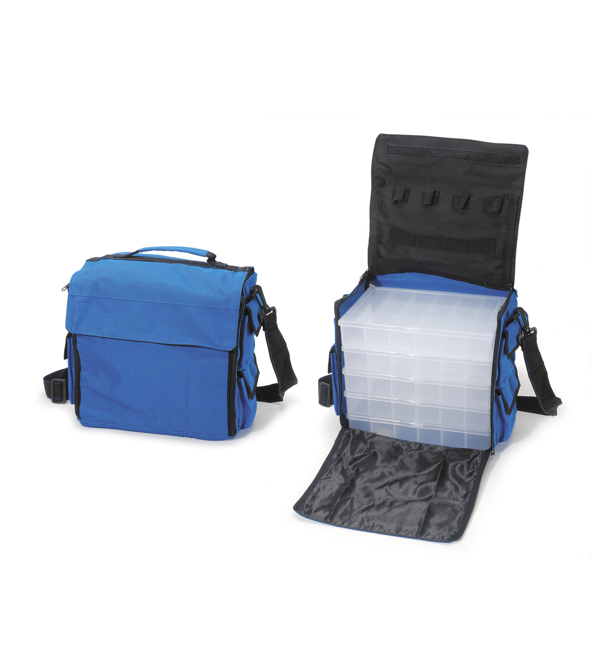 Nylon Bag Assorted with 5 Organizers