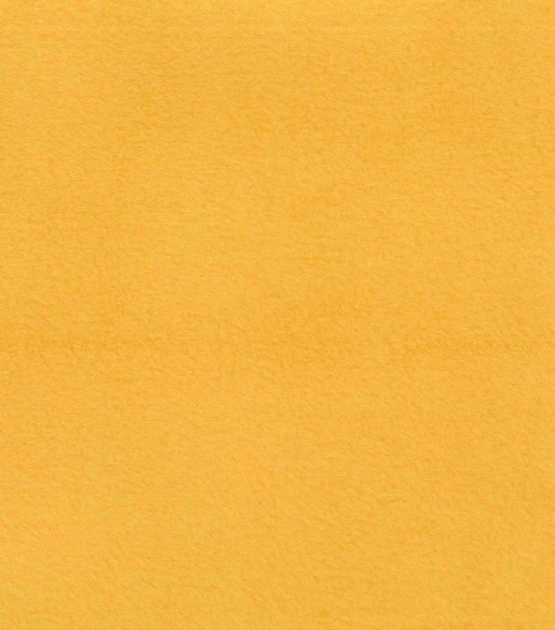 Anti-Pill Fleece Fabric -Solids, Daffodil