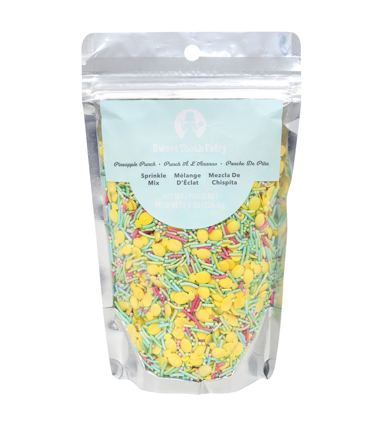 Sweet Tooth Fairy 8 oz. Sprinkle Mix-Pineapple Punch