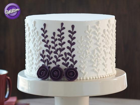 Wilton Cake Decorating Course 1 Kit Building Ercream Skills