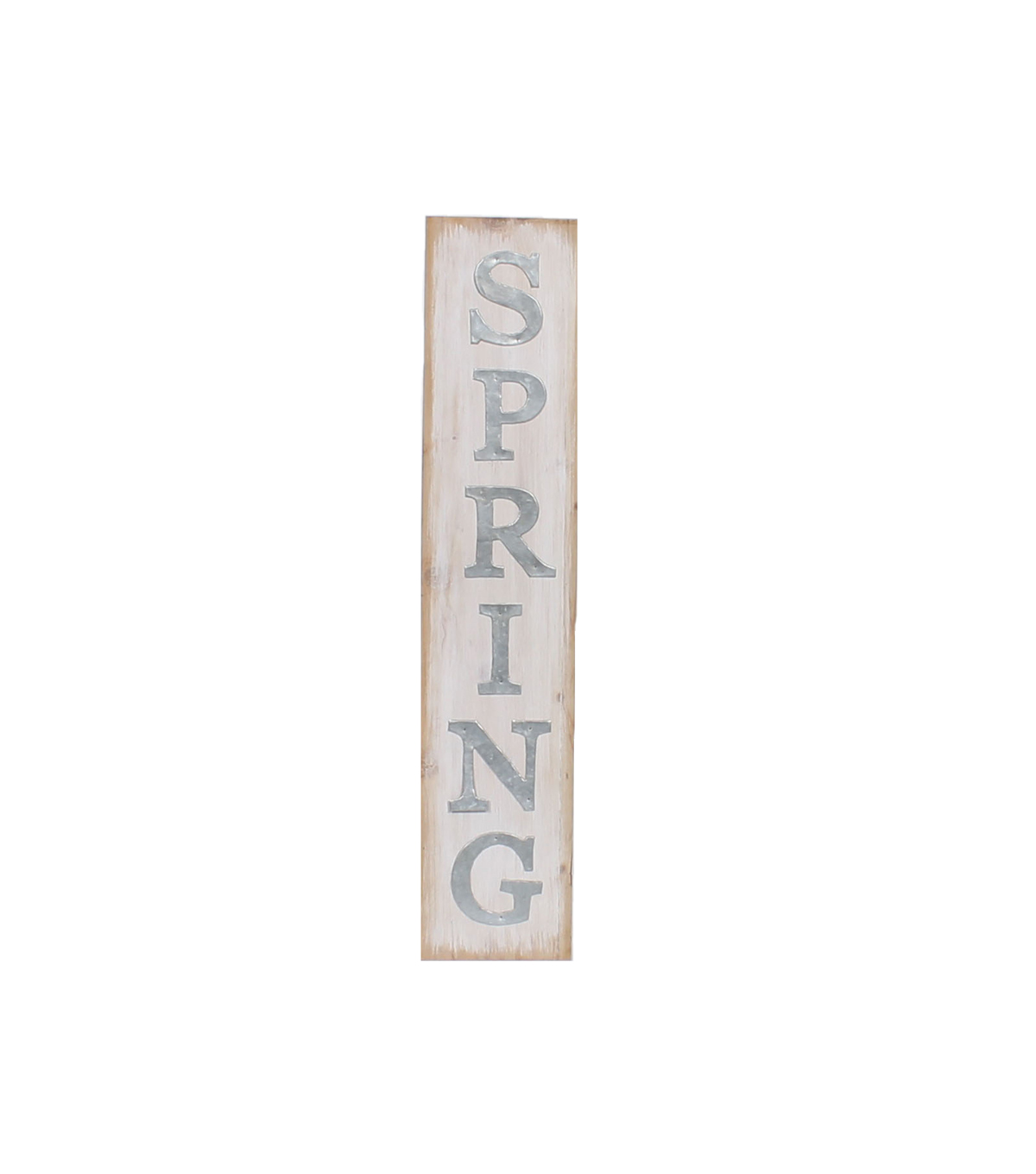 Simply Spring Vertical Wood Wall Decor-Spring