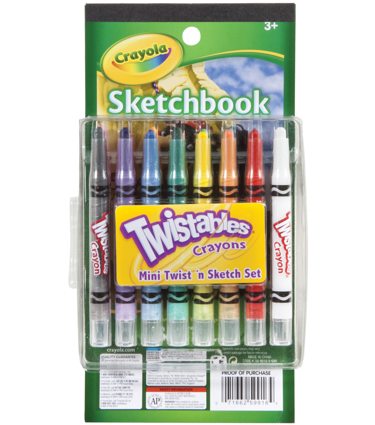Crayola Twistable Mini Twist \u0027n Sketch Set